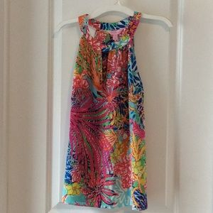 New Lilly Pulitzer Size XS Rogan Top Multi